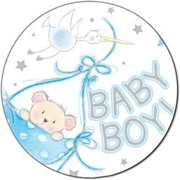 Star globo metalizado - Baby Boy - FB057