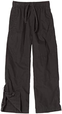 Wes and Willy Little Boys' Cotton Nylon Athletic Pant, Black, 2T