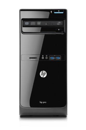 HP Pro 3500 Microtower Desktop PC (Intel Core i5-3470 3.2GHz, 4GB RAM, 500GB HDD, Intel HD Graphics 2500, DVD-RAM, Windows 8 Pro)