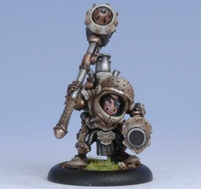 Privateer Press - Warmachine - Mercenary: Durgen Madhammer Model Kit