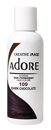 Adore Creative Image Hair Color #109 Dark Chocolate (Chocolate Color Hair Dye compare prices)