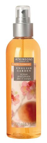Atkinsons English garden - Peach Flowers - Acqua profumata per il corpo 200 ml