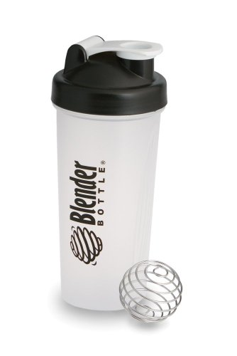Sundesa BB28-SC08 28-Ounce BlenderBottle with BlenderBall, Black