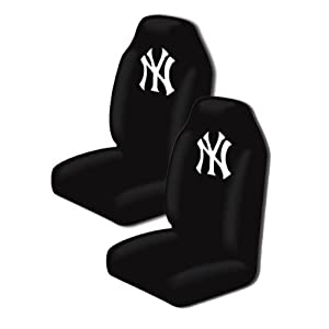 A Set of 2 MLB Major League Baseball Licensed Universal-Fit Front Bucket Seat Cover -... by MLB