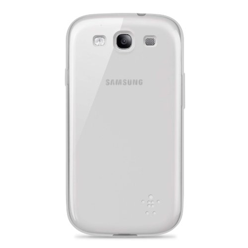 Belkin Grip Sheer Case / Cover for Samsung Galaxy S3 / S III (Frosted White)