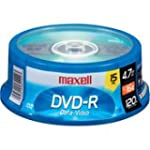 Maxell 16X Write-once DVD-R Spindle -...