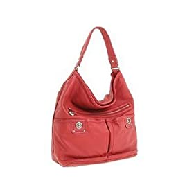 Marc by Marc Jacobs Totally Turnlock Faridah Bag Tote Bright Red