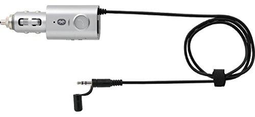 プリンストンテクノロジー Bluetooth対応FMトランスミッター シルバー PCK-FMBT1SV