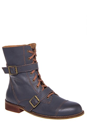 Track Lace-Up Ankle Boot