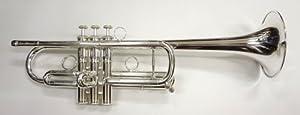 キャロルブラス・ゾロ C管トランペット(銀メッキ仕上げ)