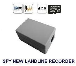 SPY SUPER MINI LANDLINE TELEPHONE RECORDER