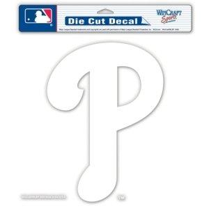 Philadelphia Phillies 8''X8'' Die-Cut Decal