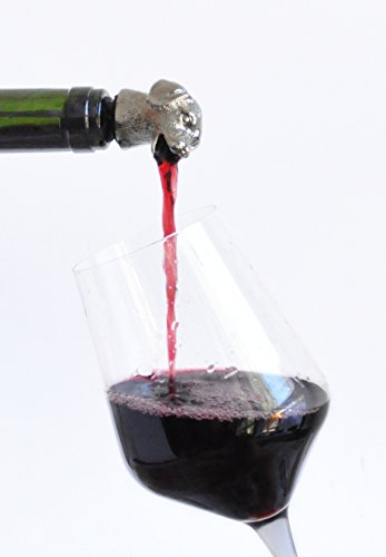 Dog Animal Wine Pourer Aerator Also Available Deer