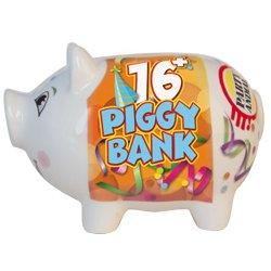 16+ Piggy Bank