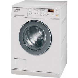 Miele W3037 24 Front Load Washer - White [German Engineering - Built to Last]