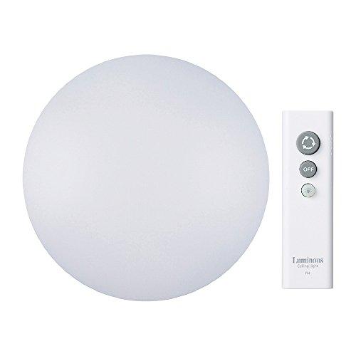 ルミナス LEDシーリングライト ~6畳 調光タイプ 光拡散レンズ搭載 シンプルリモコン付き CS-F06D