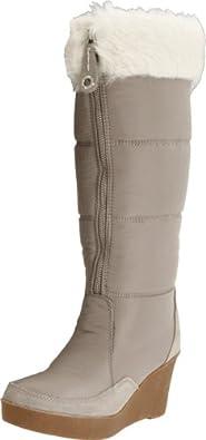 Juicy Couture Women's Ensley Knee-High Boot,Grey,10.5 M US