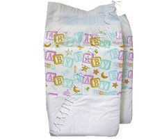 "Bambino Classico Large , White and Pastel - 44"" - 58"""