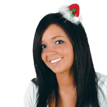 Beistle Santa Hat Hair Clip (Tiny Hat Hair Clip compare prices)