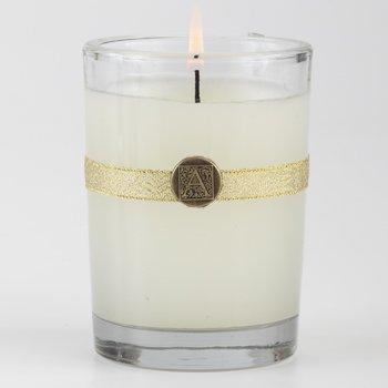 Amaretto Nog 6 oz Glass Candle by Aromatique