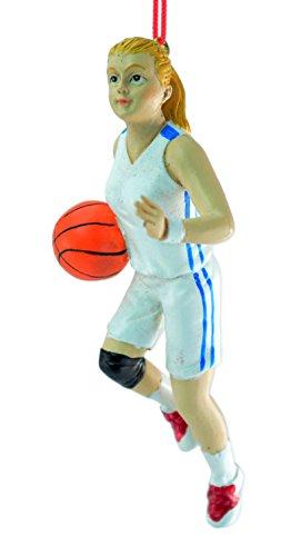 Girl Basketball Player Ornament