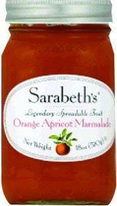 SARABETH'S PEACH APRICOT JAM 18 oz