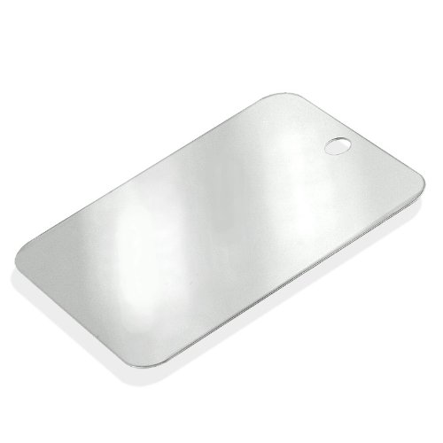 Heavy-Duty Stainless Steel Camping Mirror - Personal