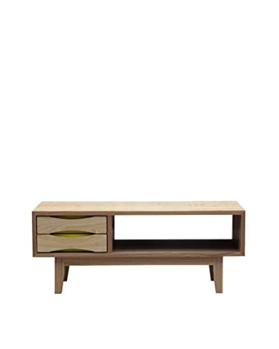 Kardiel Moderno Media TV Cabinet/Modern Coffee Table, Ash