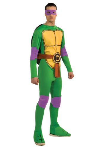 Rubies Mens Teenage Mutant Ninja Turtles Donatello Fancy Dress Costume