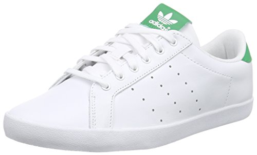 Adidas Originals Miss Stan - Scarpe da Ginnastica Basse Donna , Bianco (Weiß (Ftwr White/Ftwr White/Green)), 38 EU