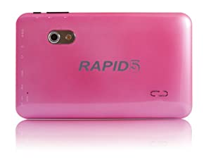 """PROMOTIONAL PRICE!! 7"""" RAPID5 ECO TABLET PC - DUAL-CORE CPU - ANDROID 4.2 JELLY BEAN - DUAL CAMERAS - QUAD CORE GPU - HDMI - USB (PINK) by Fusion5"""