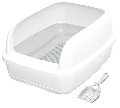 【Amazon.co.jp限定】 デオトイレ 1週間消臭・抗菌 本体セットハーフカバー ピュアホワイト
