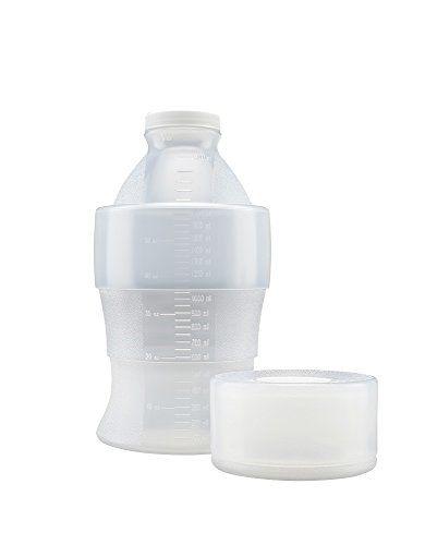 Flex Collect 201479 2000 Ml Collapsible Ldpe Container, 53 Mm White Screw Cap (Pack Of 12) front-554025