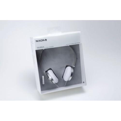 NIXON HEADPHONES: APOLLO/ SILVER/WHITEの写真02。おしゃれなヘッドホンをおすすめ-HEADMAN(ヘッドマン)-