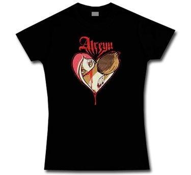 Atreyu * Heart * Ragazza * Maglietta * L * LIQUIDAZIONE * ARTICOLO UNICO *