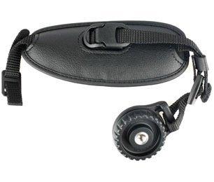 Lederhandschlaufe E2 für Canon EOS 550D, 50D, 60D, 600D, 7D, 5D2 Kompatibel mit Kameras Genick Schultergurt, Stativ