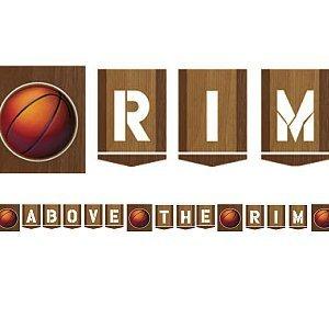 Fast Break Basketball Banner Pl