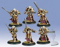 Knights Exemplar Unit Warmachine Minature Game