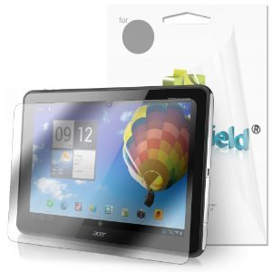 Greatshield Ultra Smooth Clear Screen Protector Film For Acer Iconia Tab A510 / A700 10.1-Inch Android Tablet (3 Pack)