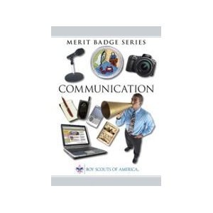 communications merit badge series 9780839532583 reference books