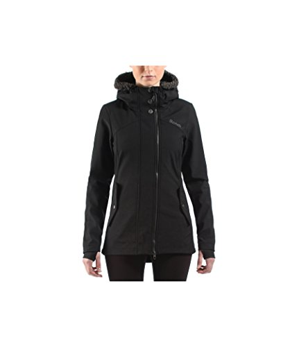 Bench Chilly Nights - Giacca da donna in softshell, Nero (Jet Black), M