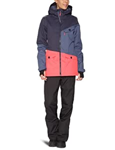 O'Neill Women's Segment Snow Jacket Hw  -  Navy Night, Large (Old Version)