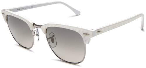 white ray ban clubmaster  Ray Ban Clubmaster White - Ficts