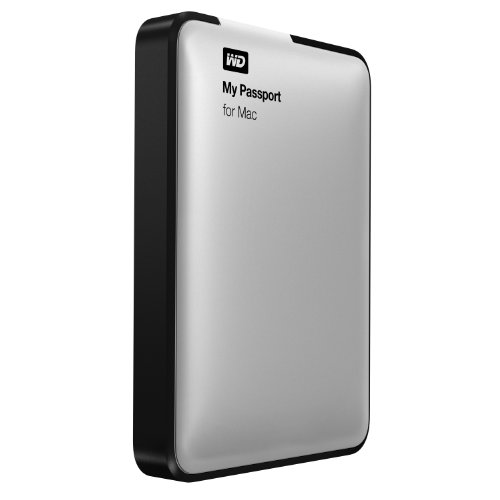 WD My Passport for Mac 1TB Portable External Hard Drive Storage USB 3.0