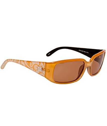 36e72bfb58 Del Sol Color-Changing Women s Solize Sunglasses (My Diane - Clear to Gold)