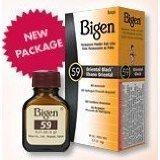 Bigen Oriental Black Hair Color #59 1kit (Pack of 2) (Color: Black)
