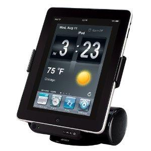Jensen Jips-250I Docking Station For Ipad, Ipod, And Iphone (Black)