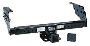 """Reese Towpower 37042 Class III/IV 2"""" Square Tube Multi-Fit Receiver with Hitch Plug Cover"""