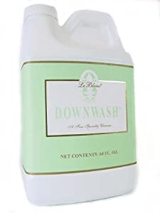 Le Blanc Down Wash Special Wash for Comforters, Down Pillows, Jackets, Clothing and Duvets Economy Size 64 Oz Bottle, 6Pack