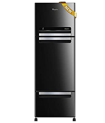 Whirlpool Fp 263D Royal Frost-free Double-door Refrigerator (240 Ltrs, Mirror Black)